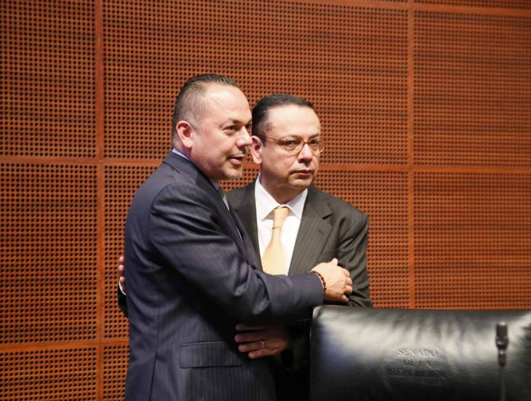 Senador Erandi Bermúdez Méndez, al intervenir desde su escaño