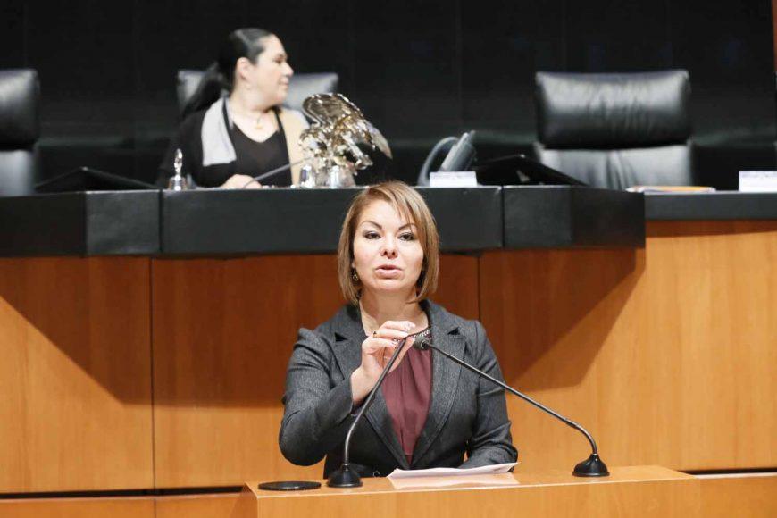 Intervención de la senadora Minerva Hernández Ramos, al presentar reserva a un dictamen de las comisiones unidas de Hacienda y Crédito Público y de Estudios Legislativos Primera, por el que se reforma la fracción III del artículo 113 y se adiciona un artículo 113 Bis, todos del Código Fiscal de la Federación.