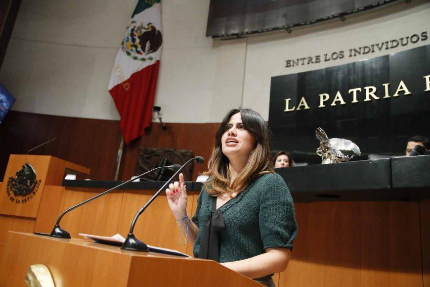 Intervención en tribuna de la senadora Indira de Jesús Rosales San Román, al presentar iniciativa con proyecto de decreto que reforma el artículo 24 de la Ley de Navegación y Comercio Marítimos.