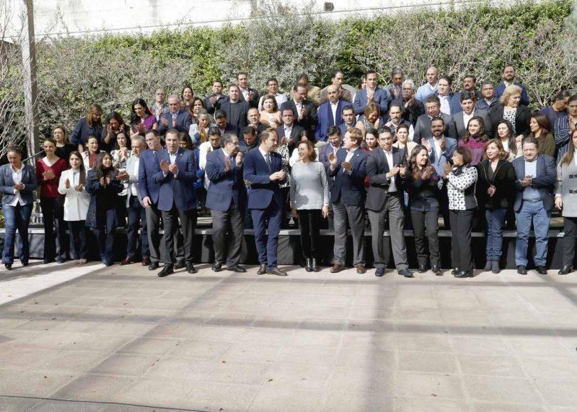 Posicionamiento del CEN del PAN y los grupos parlamentarios en las cámaras de Senadores y Diputados