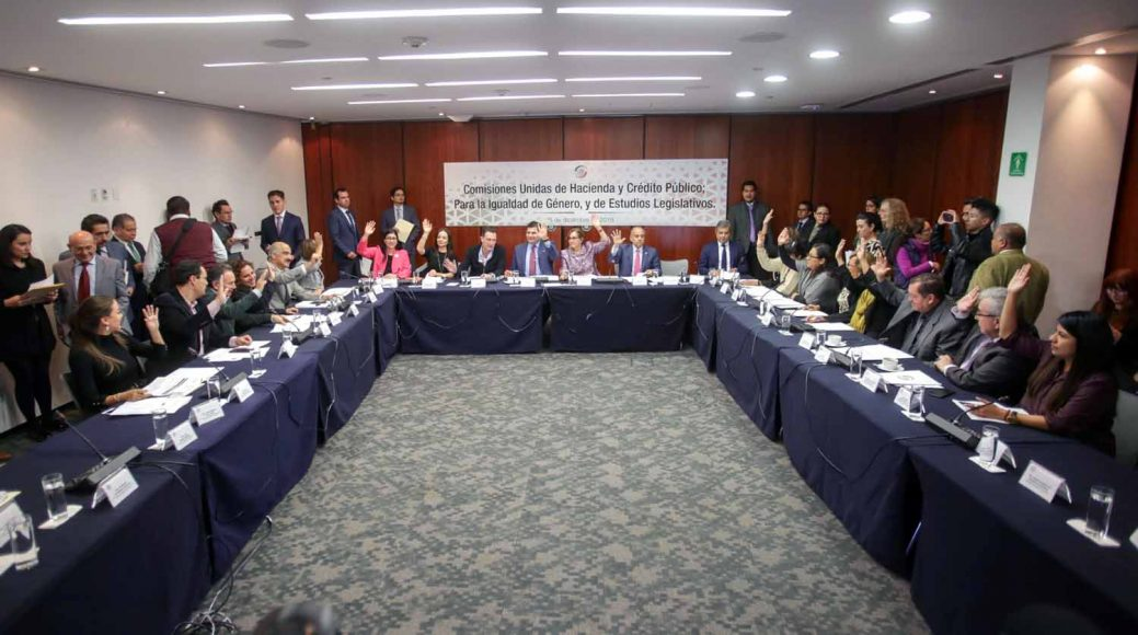 comisiones unidas de Hacienda y Crédito Público, de Estudios Legislativos, Juan Antonio Martín del Campo, Mauricio Kuri González, Minerva Hernández Ramos, Nadia Navarro Acevedo, Para la Igualdad de Género