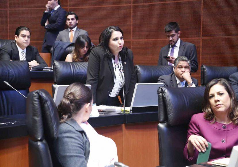 Senadora Mayuli Latifa Martínez Simón en materia de violencia contra las mujeres