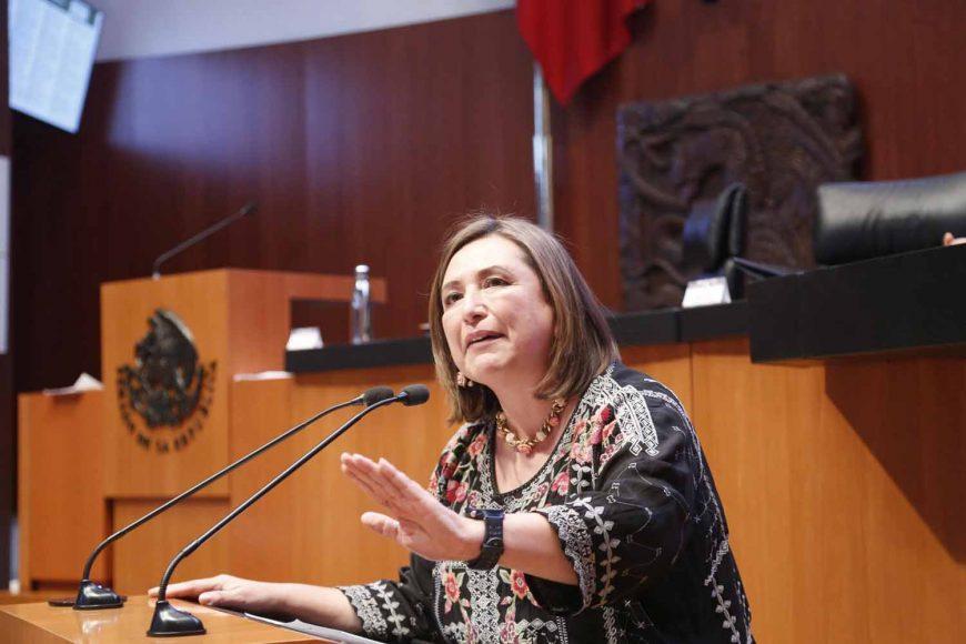 Intervención en Tribuna de la senadora Xóchitl Gálvez Ruiz