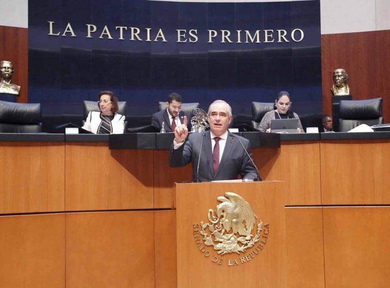 Senador Julen Rementería Del Puerto pide al Ejecutivo federal a analizar y cumplir recomendaciones del FMI