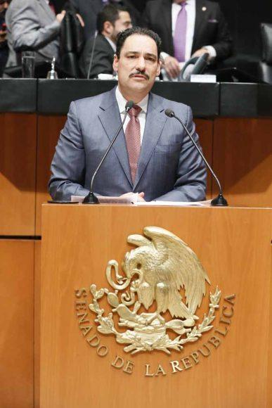 Intervención en tribuna del senador Juan Antonio Martín del Campo al presentar reserva a un dictamen de las Comisiones Unidas de Puntos Constitucionales y de Estudios Legislativos Segunda con proyecto de decreto por el que se reforma el artículo 19 de la Constitución Política de los Estados Unidos Mexicanos.