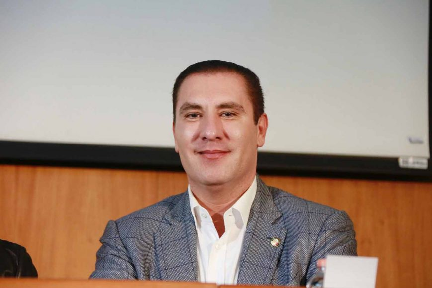 Entrevista a Rafael Moreno Valle, coordinador de los senadores, en el marco del Consejo Nacional del PAN
