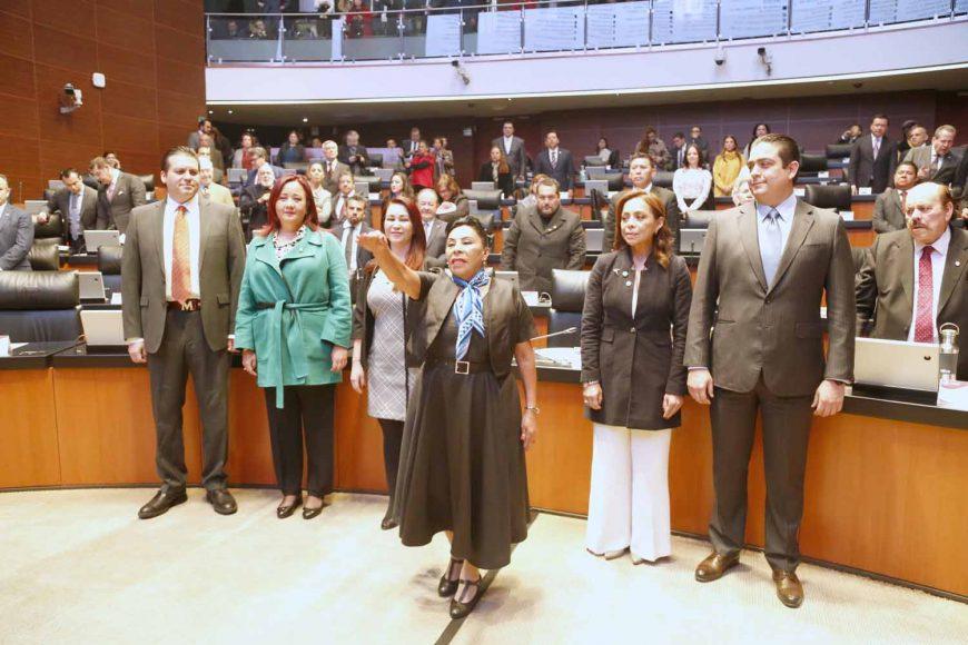 Toma de protesta de la senadora Martha María Rodríguez Domínguez