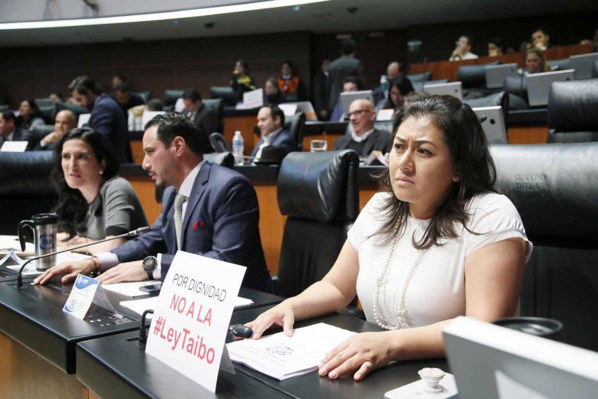 Senadora Nadia Navarro Acevedo