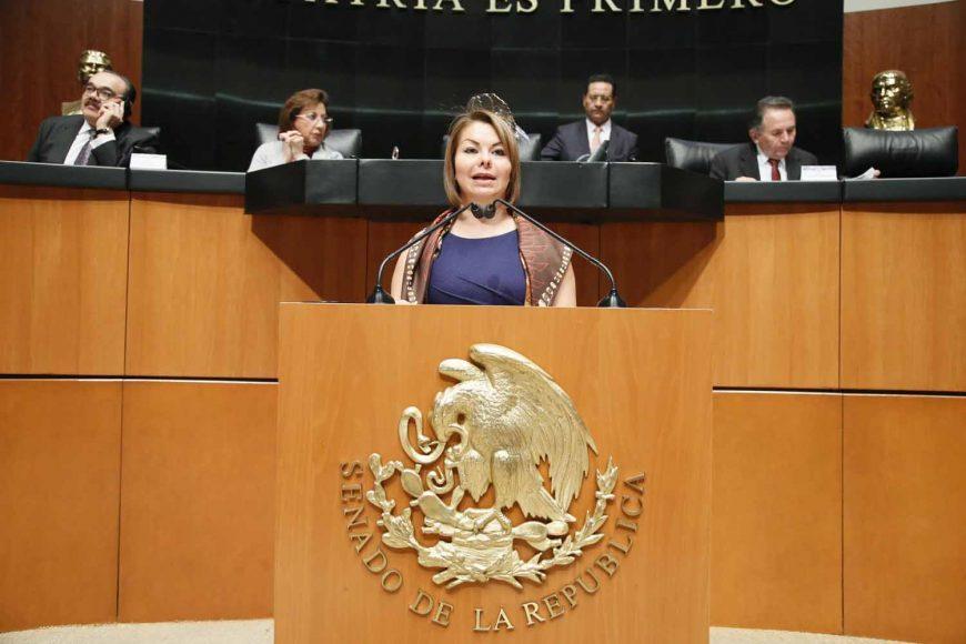 Intervención de la senadora Minerva Hernández Ramos, al presentar una iniciativa por la que se expide la Ley de Presupuesto General de la Nación, Eficiencia en el Gasto Público y Austeridad Republicana.
