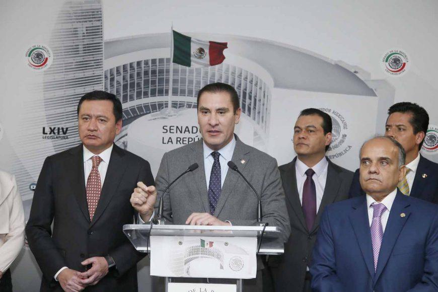 Senador Rafael Moreno Valle, Conferencia