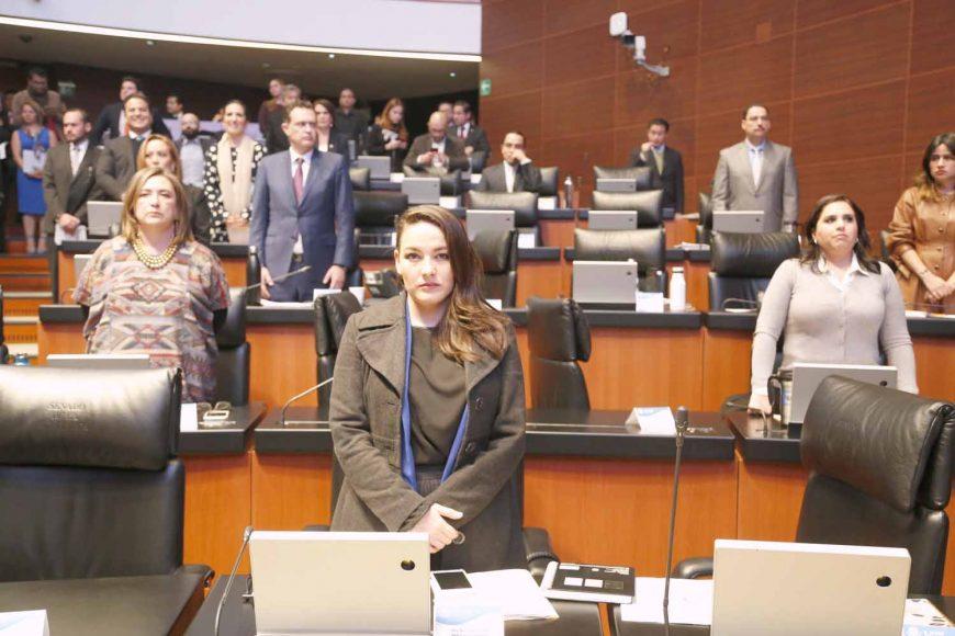 Intervención desde su escaño de la senadora Martha Cecilia Márquez Alvarado