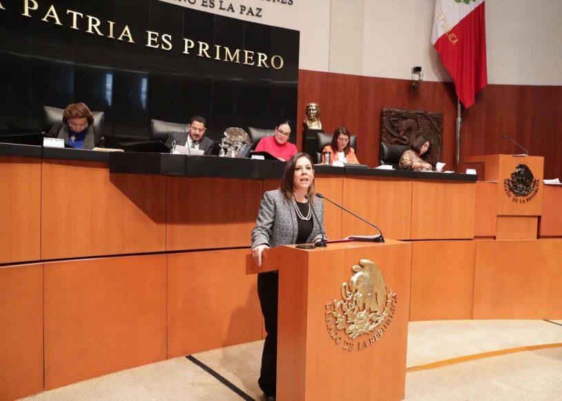 Intervención en la tribuna de la senadora Gina Andrea Cruz Blackledge al presentar dos dictámenes de la Comisión de Relaciones Exteriores América del Norte.