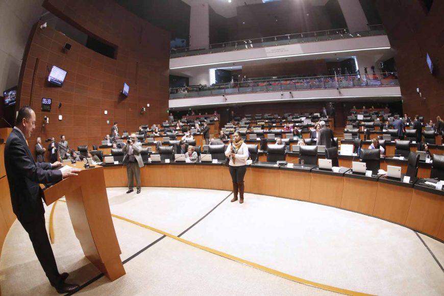 Intervención del senador Erandi Bermúdez Méndez, al presentar siete dictámenes de la Comisión de Recursos Hidráulicos.