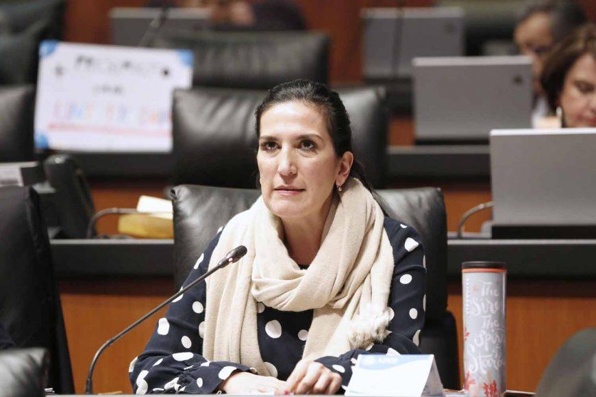 Intervención de la senadora Kenia López Rabadán, al referirse a un acuerdo de la Mesa Directiva que exhorta al ayuntamiento de Jaltenco, en el Estado de México, a omitir la realización de cualquier acto que constituya violencia política.