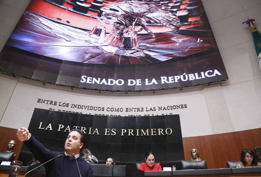 Intervención en tribuna del senador Damián Zepeda Vidales, al presentar iniciativa con proyecto de decreto que reforma diversas disposiciones de la Constitución Política de los Estados Unidos Mexicanos.
