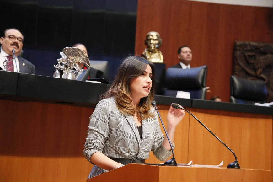 Intervención en tribuna de la senadora Indira Rosales San Román para presentar el posicionamiento del GPPAN al dictamen de la Comisión de Justicia, el que contiene puntos de acuerdo sobre los requisitos de elegibilidad de las personas que integran la terna para la elección de Ministro o Ministra de la Suprema Corte de Justicia de la Nación.