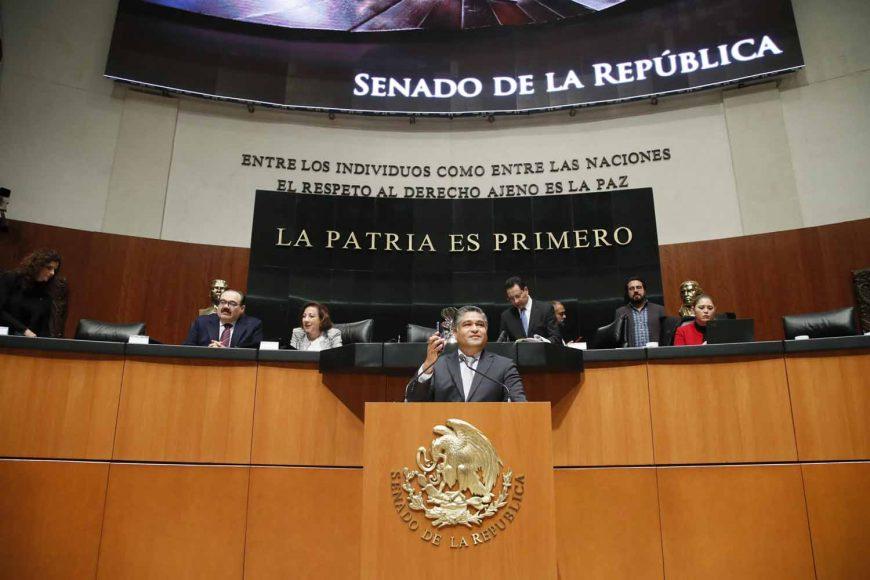 Intervención en tribuna del senador Víctor Fuentes Solís, al presentar reservas al dictamen de las Comisiones Unidas de Hacienda y Crédito Público, y de Estudios Legislativos Segunda, correspondiente a la minuta proyecto de decreto que expide la Ley de Ingresos de la Federación para el Ejercicio Fiscal de 2019.
