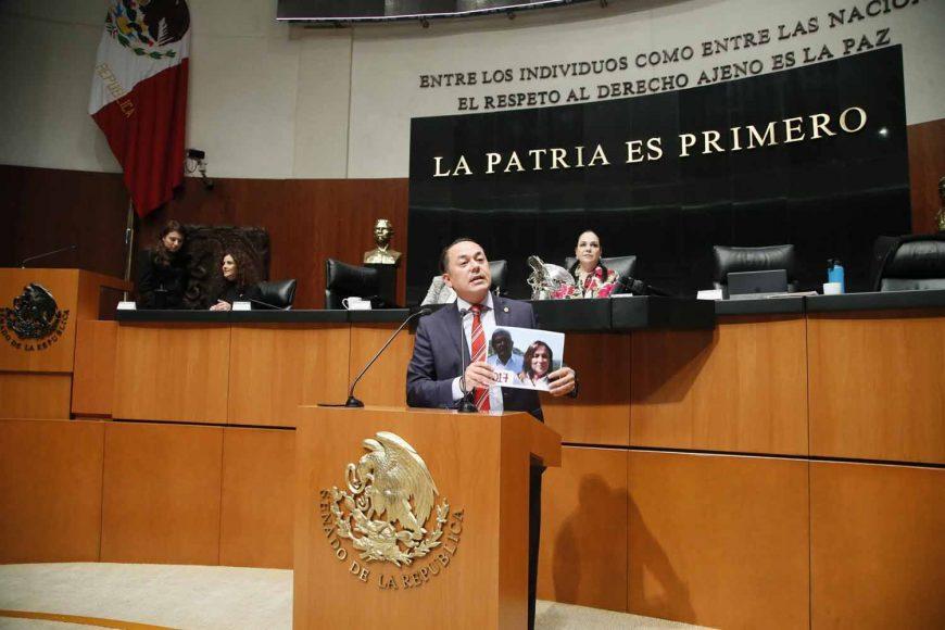 Intervención en tribuna del senador José Erandi Bermúdez Méndez, al presentar reservas al dictamen correspondiente a la minuta proyecto de decreto que expide la Ley de Ingresos de la Federación para el Ejercicio Fiscal de 2019.