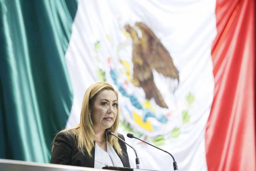 Senadora Alejandra Noemí Reynoso Sánchez al presentar iniciativa con decreto por el que se crea el Instituto Cultural Frida Kahlo