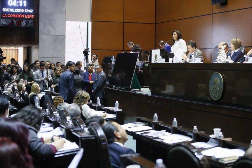 Senadora Nadia Navarro Acevedo para referirse al Punto de Acuerdo por el que se crea la Comisión Especial para conocer y dar seguimiento a las investigaciones y acciones emprendidas por las autoridades competentes respecto a las causas que provocaron el desplome del Helicóptero Augusta-Westland en Puebla.
