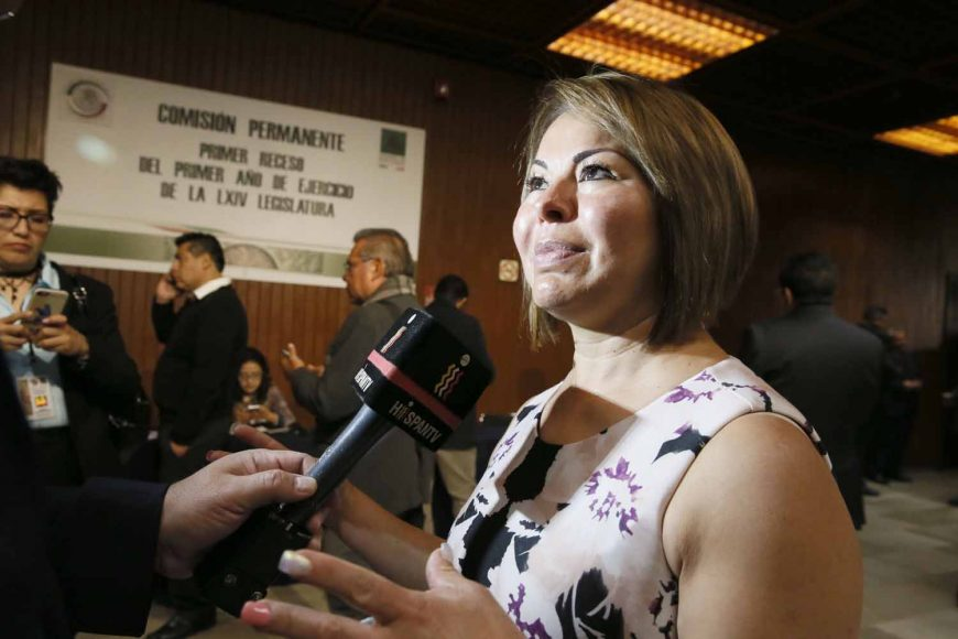 Senadora Minerva Hernández Ramos, entrevista