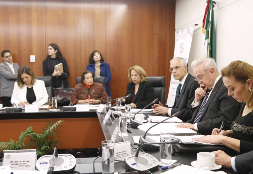 Pregunta de la senadora Gina Andrea Cruz Blackledge en la comparecencia de Julián Ventura Valero, designado como subsecretario de Relaciones Exteriores, ante la Comisión de Relaciones Exteriores.