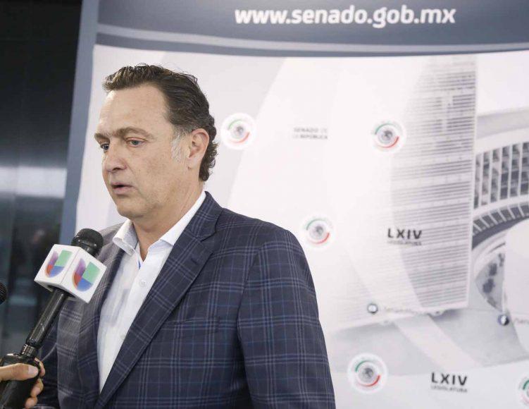 Senador Mauricio Kuri González, en entrevista a para la cadena de televisión Univision