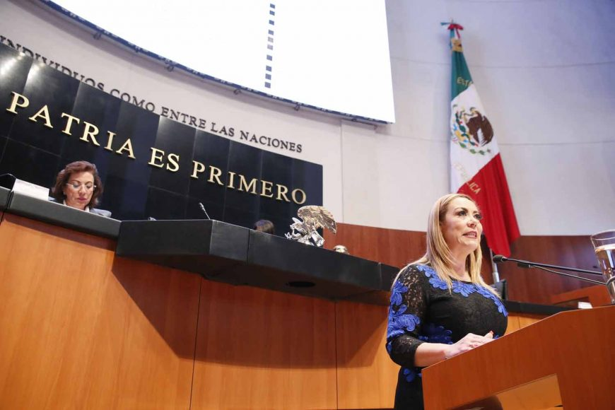 Presenta senadora Alejandra Reynoso Sánchez el posicionamiento del GPPAN a diversos dictámenes por lo que se ratifican a funcionarios de la SRE