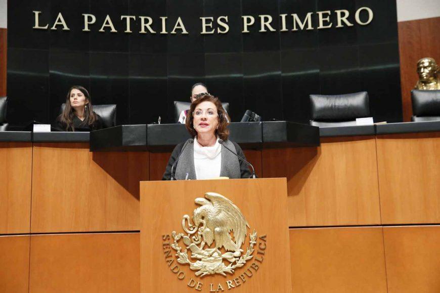 Anuncian senadores del PAN voto en contra de la designación del Fiscal General de la República, María Guadalupe Murguía Gutiérrez