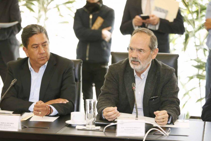 Senador Gustavo Madero Muñoz, en la reunión de las comisiones unidas de Relaciones Exteriores y de Relaciones Exteriores América Latina y el Caribe, en relación con la situación en Venezuela.
