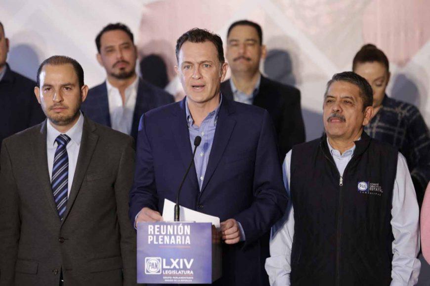 Mensaje del coordinador de los senadores del Partido Acción Nacional (PAN), Mauricio Kuri González, al presentar la Agenda Legislativa para el Segundo Periodo Ordinario de Sesiones del Primer Año de la XLIV Legislatura.(1)
