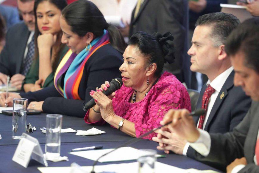 Intervención de la senadora Martha María Rodríguez Domínguez durante la reunión de trabajo de la Comisión de Turismo con la Red Nacional de Alcaldes de Pueblos Mágicos e integrantes de la Comisión de Turismo de la Cámara de Diputados.