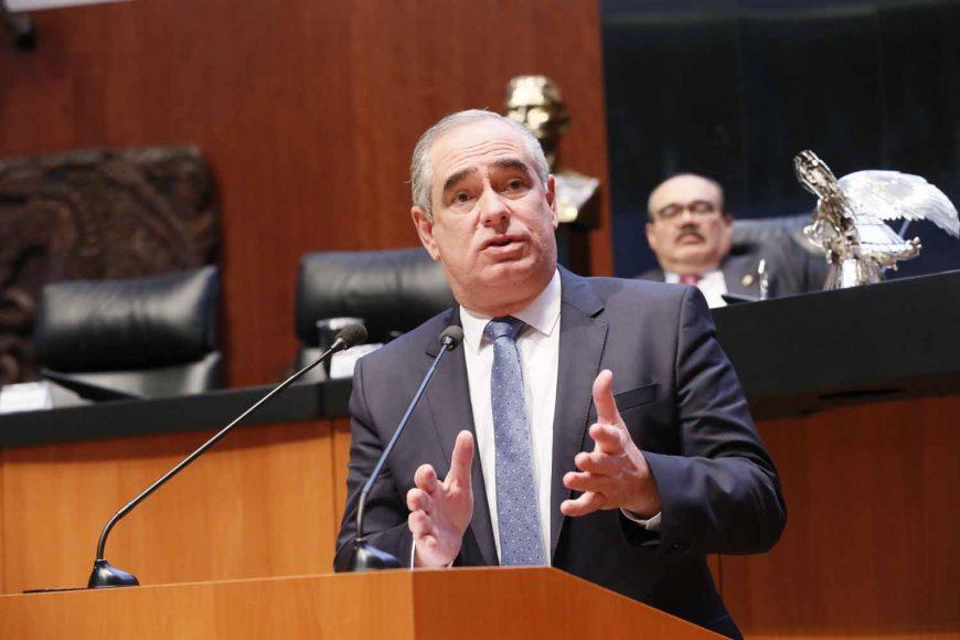 Intervención del senador Julen Rementería Del Puerto, al referirse al tema de las estancias infantiles.