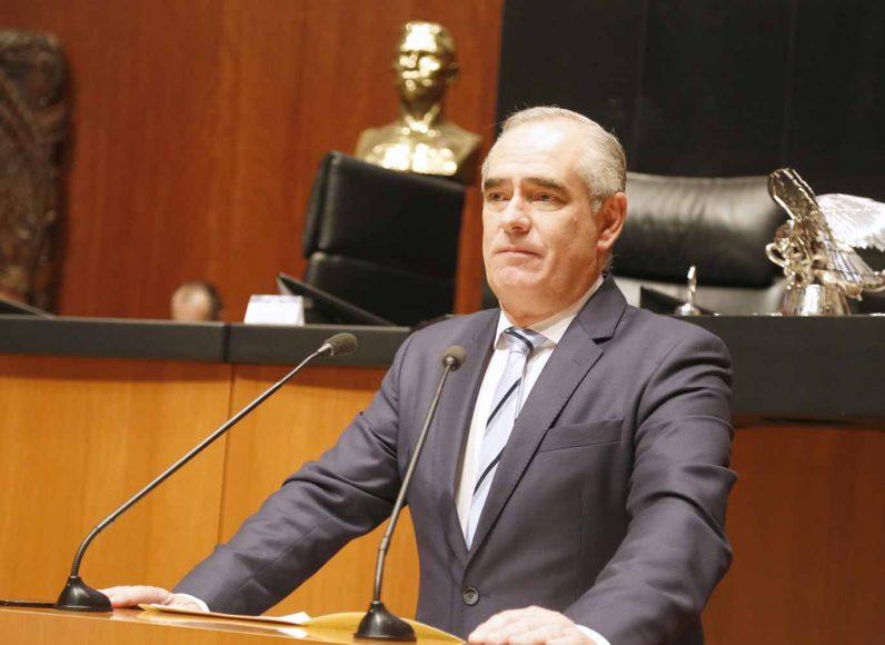 Senador Julen Rementería del Puerto, exhorta al Gobierno federal a garantizar el Estado de derecho