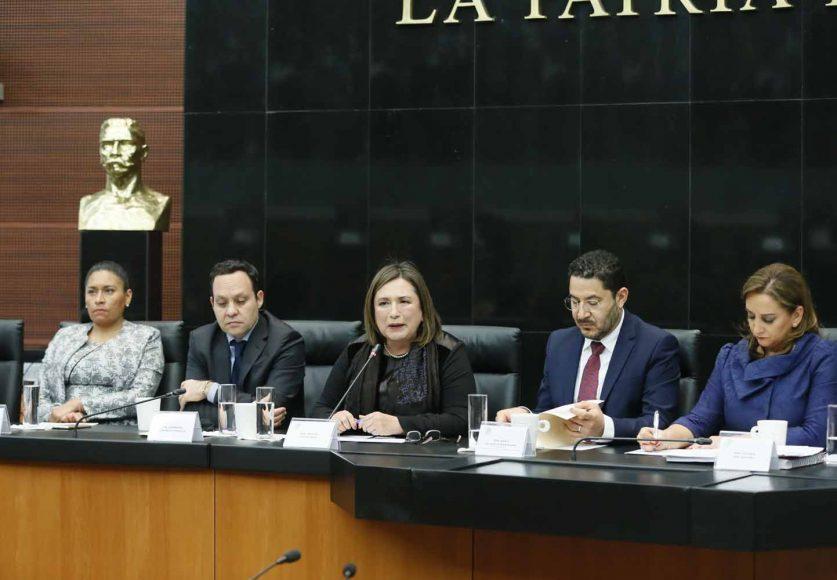 Intervención de la senadora Xóchitl Gálvez Ruiz, en la inauguración de las Audiencias Públicas en materia de Guardia Nacional.