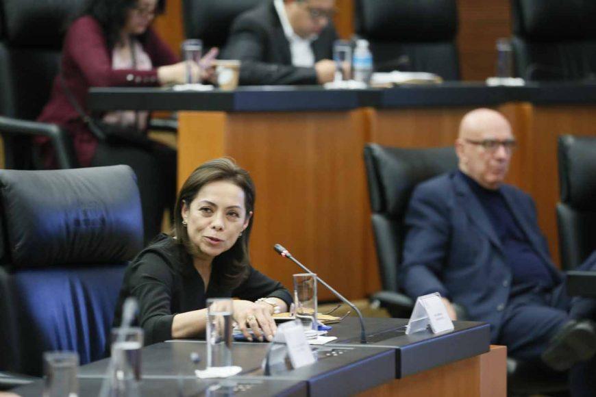 Intervención de la senadora Josefina Vázquez Mota, durante las Audiencias Públicas en materia de Guardia Nacional.