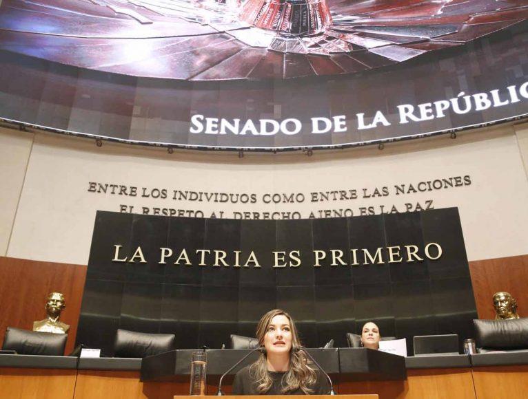 Intervención en tribuna de la senadora Martha Cecilia Márquez Alvarado, al presentar iniciativa con proyecto de decreto que deroga la fracción V del artículo 170; y reforma las fracciones XVII y XVII Bis del artículo 132; y la fracción IV del artículo 170; y adiciona una nueva fracción IV Bis y VI al artículo 170 y recorre los subsecuentes de la Ley Federal del Trabajo.