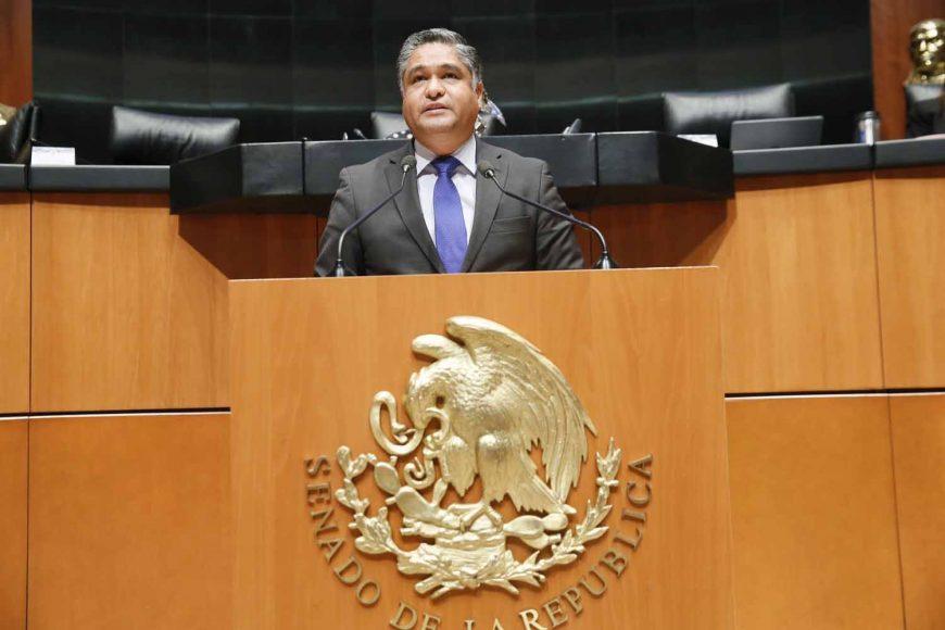 Intervención en tribuna del senador Víctor Oswaldo Fuentes Solís, al presentar punto de acuerdo por el que se solicita, de manera respetuosa, la intervención del titular del Ejecutivo Federal en el estado de Nuevo León, con la finalidad de implementar medidas urgentes y decididas para combatir los altos niveles de contaminación ambiental en el área metropolitana de Monterrey.