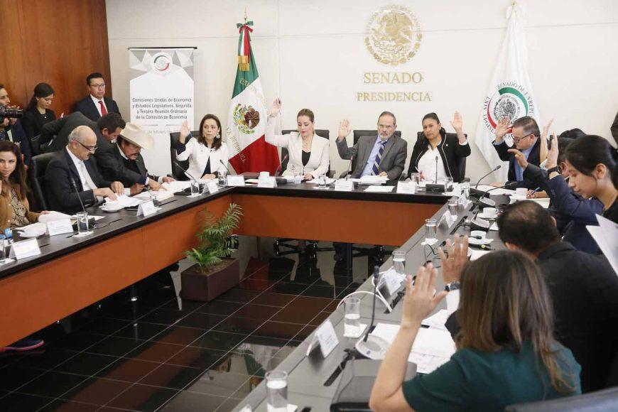 Intervención del senador Gustavo Madero Muñoz durante la reunión de la Comisión de Economía.