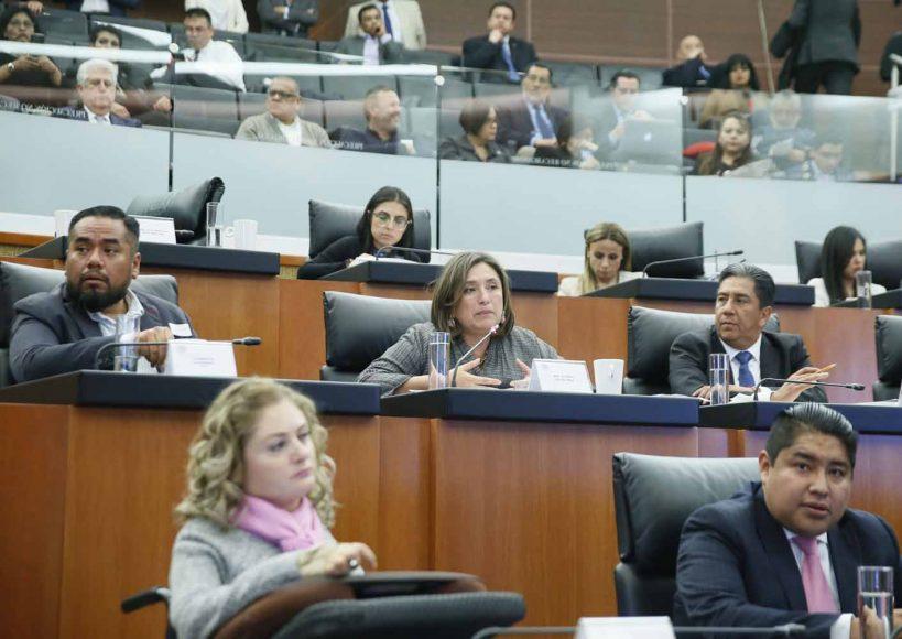"""Intervención de la senadora Xóchitl Gálvez Ruiz, al preguntar a los ponentes del Bloque 2 de la Mesa de Trabajo 4, """"Federalismo y seguridad pública"""", en el marco del Parlamento Abierto para el tema de la Guardia Nacional."""