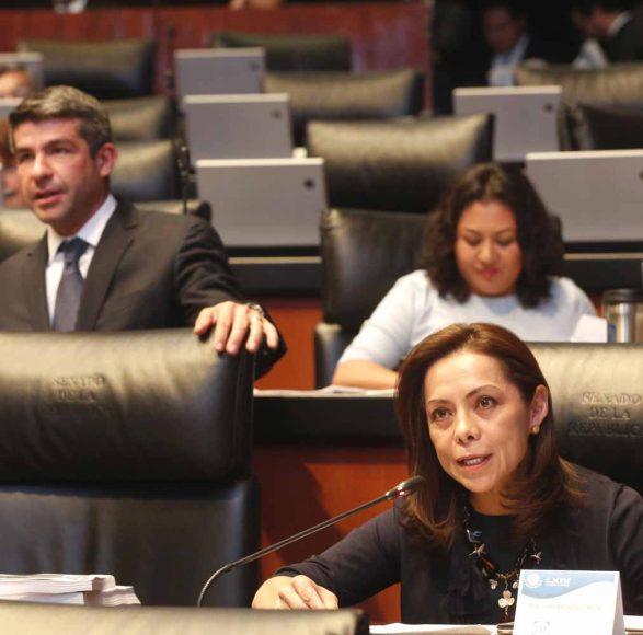 Intervención en tribuna de la senadora Josefina Vázquez Mota al referirse a un dictamen de las Comisiones Unidas de Marina y de Estudios Legislativos, Primera, con proyecto de decreto que expide la Ley de Educación Naval.