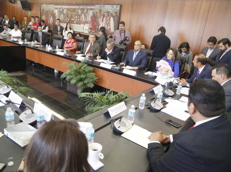 Intervención de la senadora Martha Cecilia Márquez Alvarado durante la instalación de la Comisión Bicamaral del Sistema de Bibliotecas