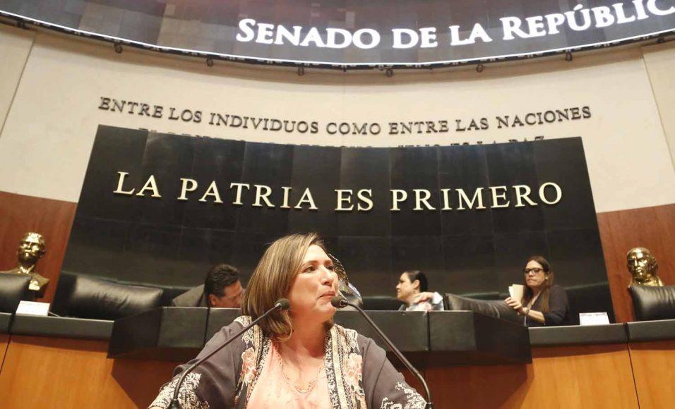 Intervención de la senadora Xóchitl Gálvez Ruiz, al participar en la discusión de un dictamen de las comisiones unidas de Trabajo y Previsión Social y de Estudios Legislativos Primera, por el que se desechan diversas iniciativas con proyecto de decreto de las LXII y LXIII Legislaturas.