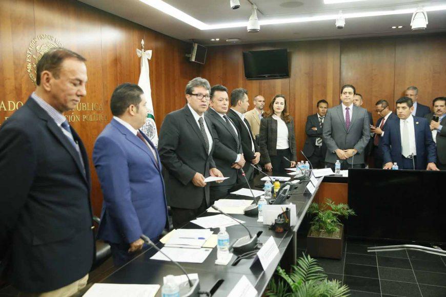 Senador Ismael García Cabeza de Vaca, al intervenir durante instalación de la Comisión Bicameral de Seguridad Nacional