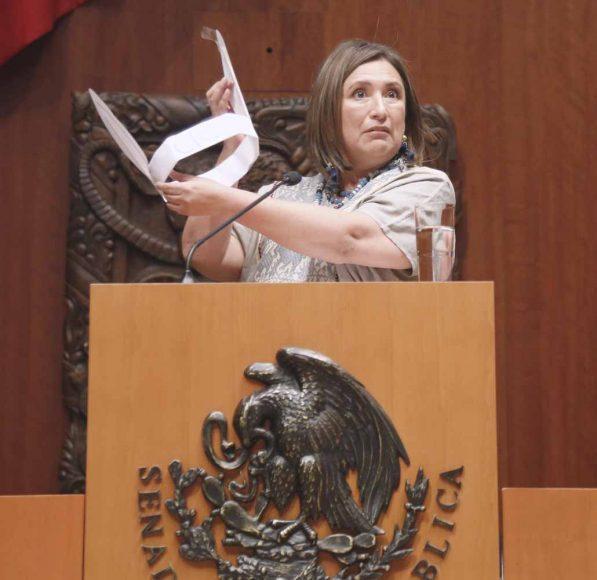 Intervención en tribuna de la senadora Xóchitl Gálvez Ruiz al participar en la discusión de un dictamen de la Comisión de Energía que acuerda la idoneidad de once personas que integran las cuatro ternas presentadas por el Ejecutivo Federal, para ocupar el cargo de Comisionado de la Comisión Reguladora de Energía.