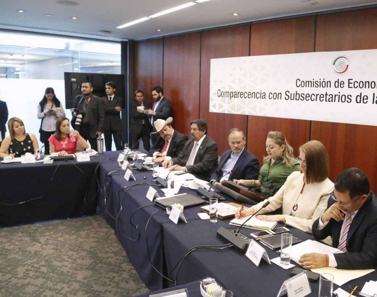 Intervención de la senadora Minerva Hernández Ramos, durante la primera ronda de preguntas en la comparecencia de la Doctora Luz María de la Mora Sánchez, subsecretaria de Comercio Exterior y del Doctor Ernesto Acevedo Fernández, subsecretario de Industria y Comercio, ante la Comisión de Economía.
