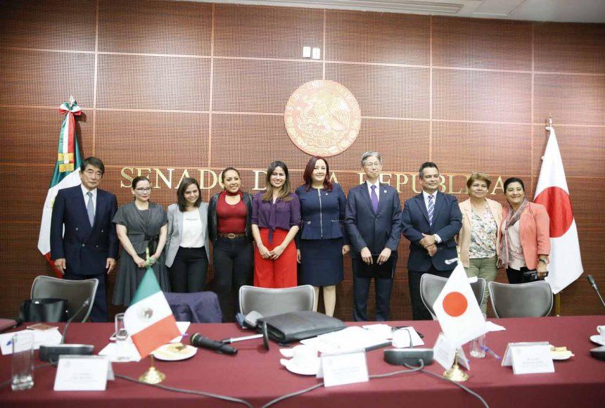 Participación de las senadoras Alejandra Reynoso Sánchez e Indira Rosales San Román, en la reunión de la Comisión de Relaciones Exteriores Asia-Pacífico-África en el 130 Aniversario del establecimiento de relaciones diplomáticas entre México y Japón.