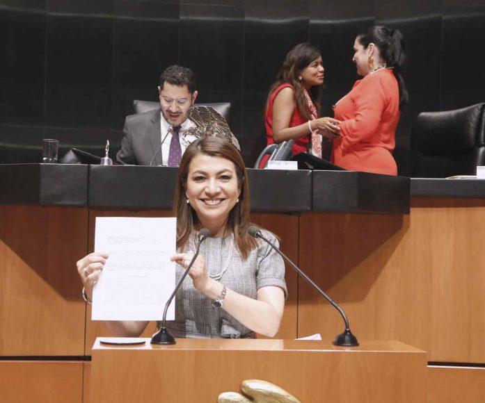 Intervención en tribuna de la senadora María Guadalupe Saldaña Cisneros, al presentar iniciativa con proyecto de decreto que reforma y adiciona diversas disposiciones de la Ley General de Acceso de las Mujeres a una Vida Libre de Violencia.