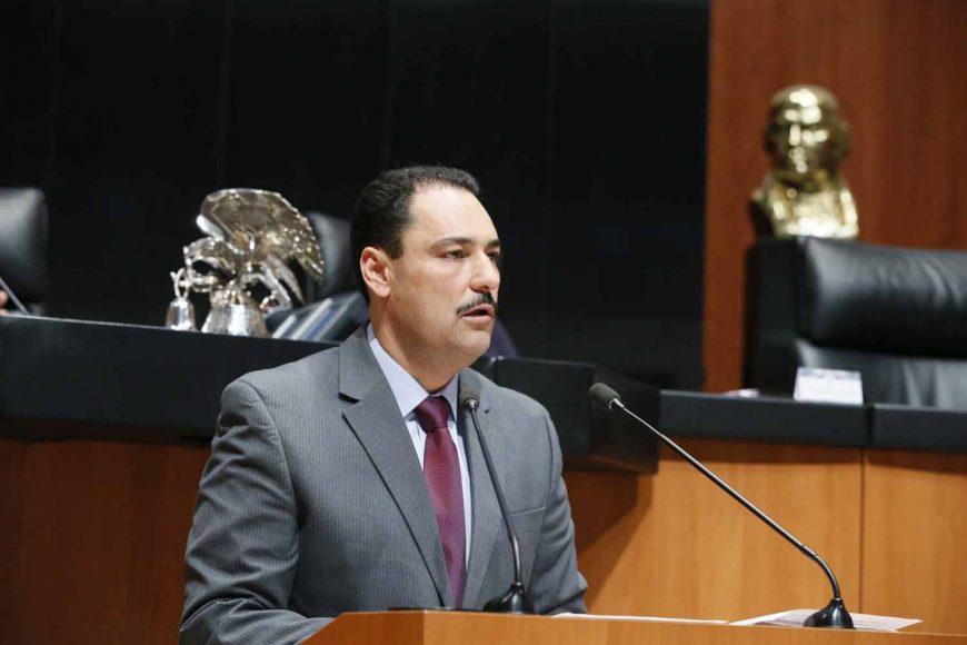 Intervención del senador Juan Antonio Martín del Campo Martín del Campo, al presentar una iniciativa que reforma diversos artículos de la Ley General de Salud.