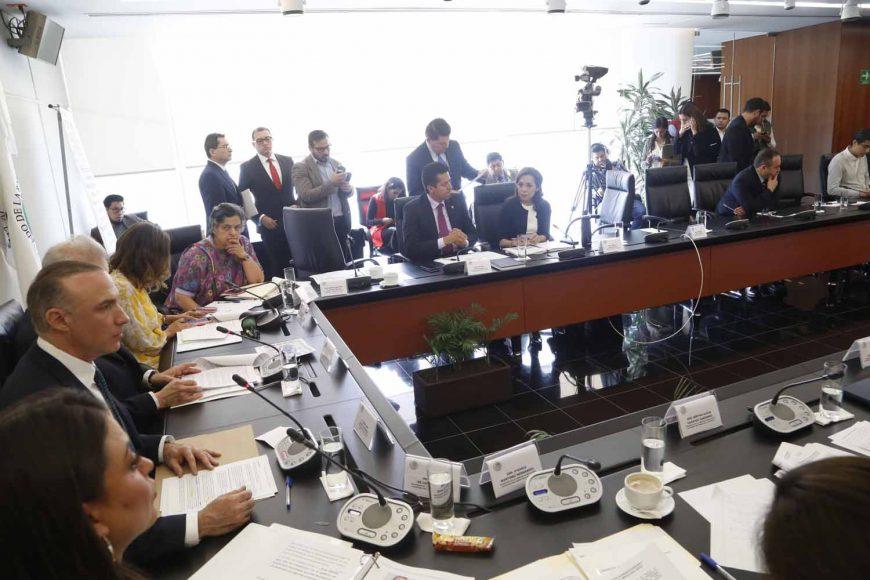 Intervención de la senadora Josefina Vázquez Mota, para realizar preguntas a Marcela Celorio Mancera, designada como cónsul general de México en Los Ángeles, California, durante su comparecencia ante las comisiones unidas de relaciones Exteriores y de Relaciones Exteriores América del Norte.